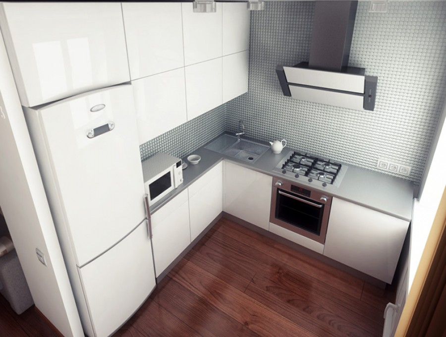 Кухня в хрущевку №94