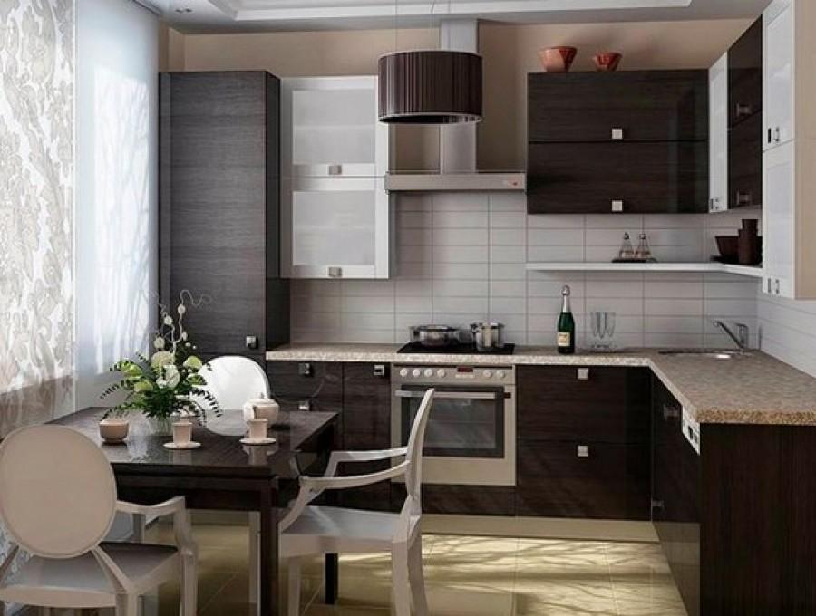 Кухня в китайском стиле №105