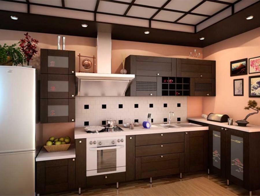 Кухня в китайском стиле №106