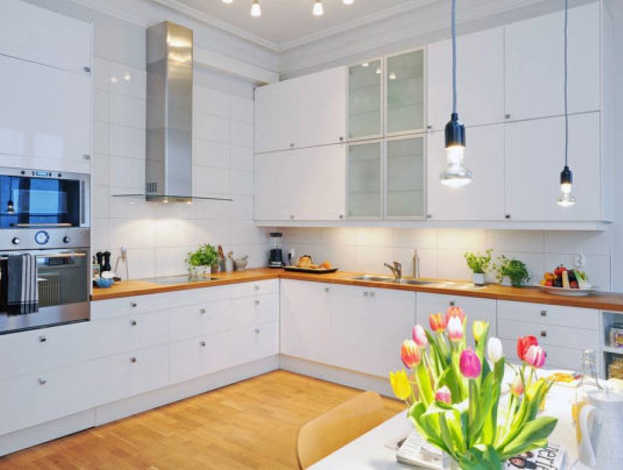 Кухня в стиле неоклассика №102