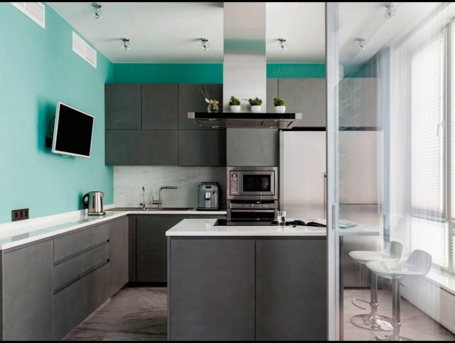 Кухня в стиле неоклассика №111