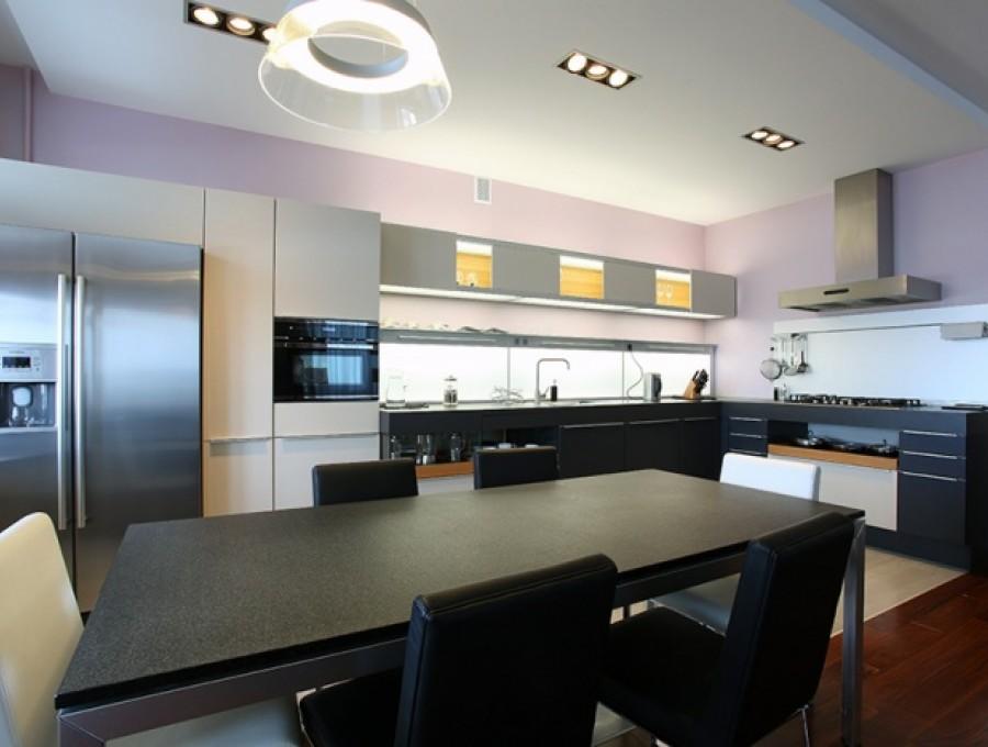 Кухня в стиле хай-тек № 104