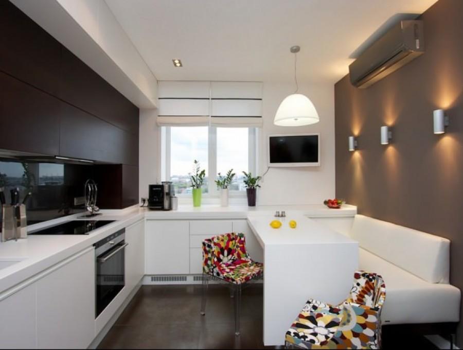 Кухня в стиле хай-тек № 110