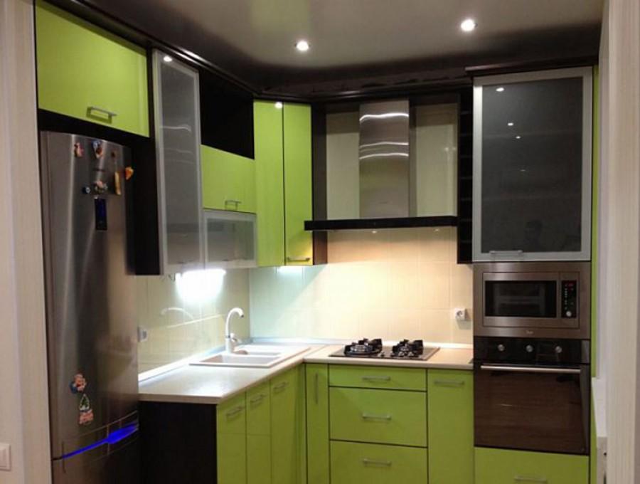 Маленькие кухни №71
