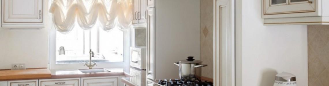 Кухня в неоклассическом стиле